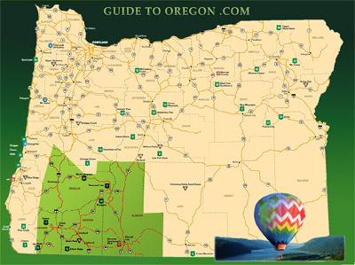 Map Of Southern Oregon My Blog - Map of south oregon